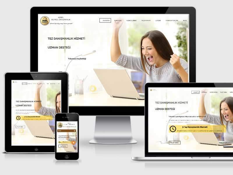 nobel bilimsel danışmanlık web tasarım