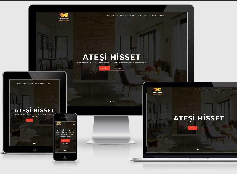 sönmez şömine web tasarım
